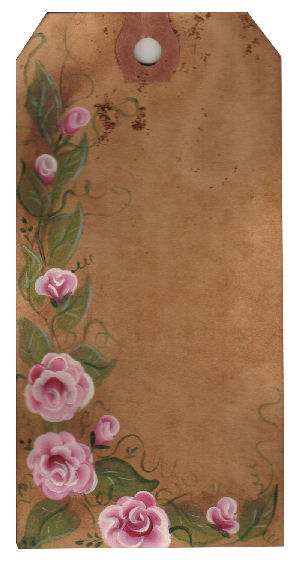 Free rose hangtags