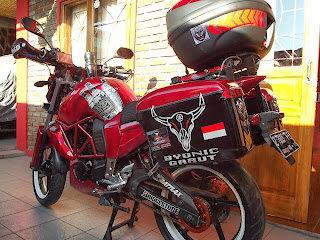 Modifikasi Byson Touring