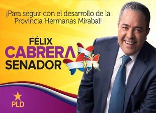 Felix Cabrera Senador