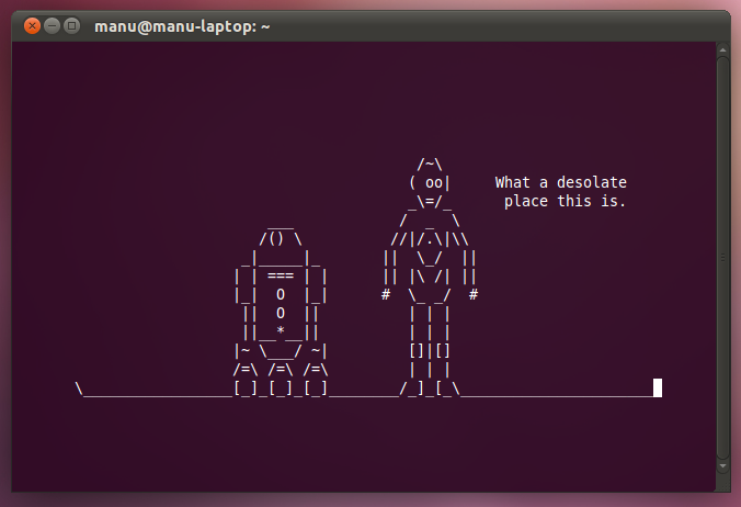 open a application from terminal