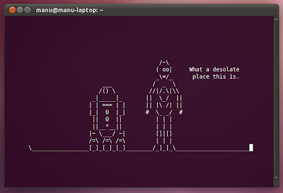 Star Wars Right in Your Terminal