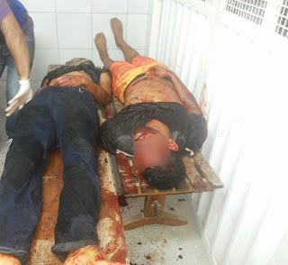 TRÊS ASSALTANTES MORREM E POLICIAL FICA FERIDO EM TROCA DE TIROS EM AMARGOSA
