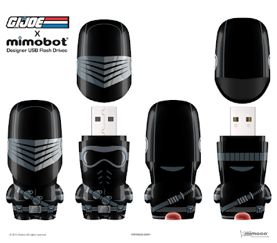 G.I. Joe Mimobot Designer USB Flash Drives Series 1 by Mimoco - Snake Eyes