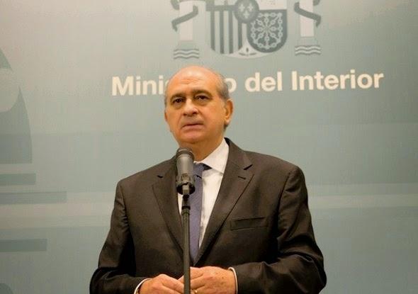 وزير الداخلية الإسباني خورخي فرنانديز دياز