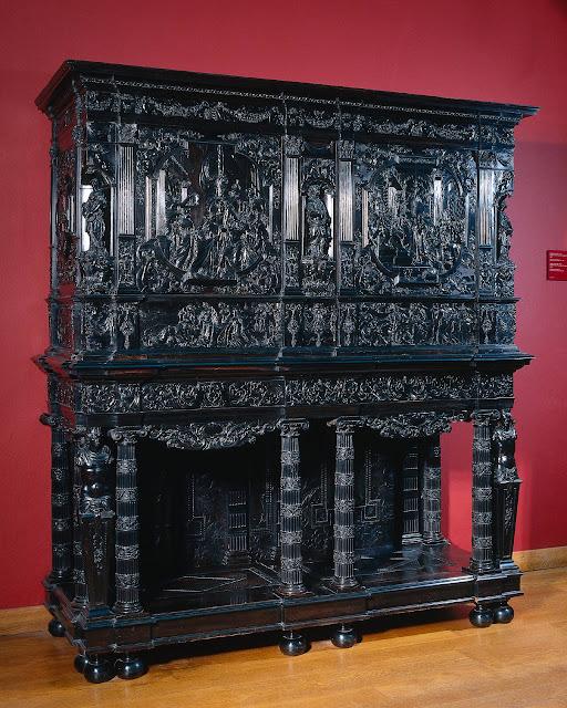 Pierre Gole, 1645    marqueterie, h 211.0cm × b 185.0cm × d 68.5cm  Rijksmuseum Amsterdam