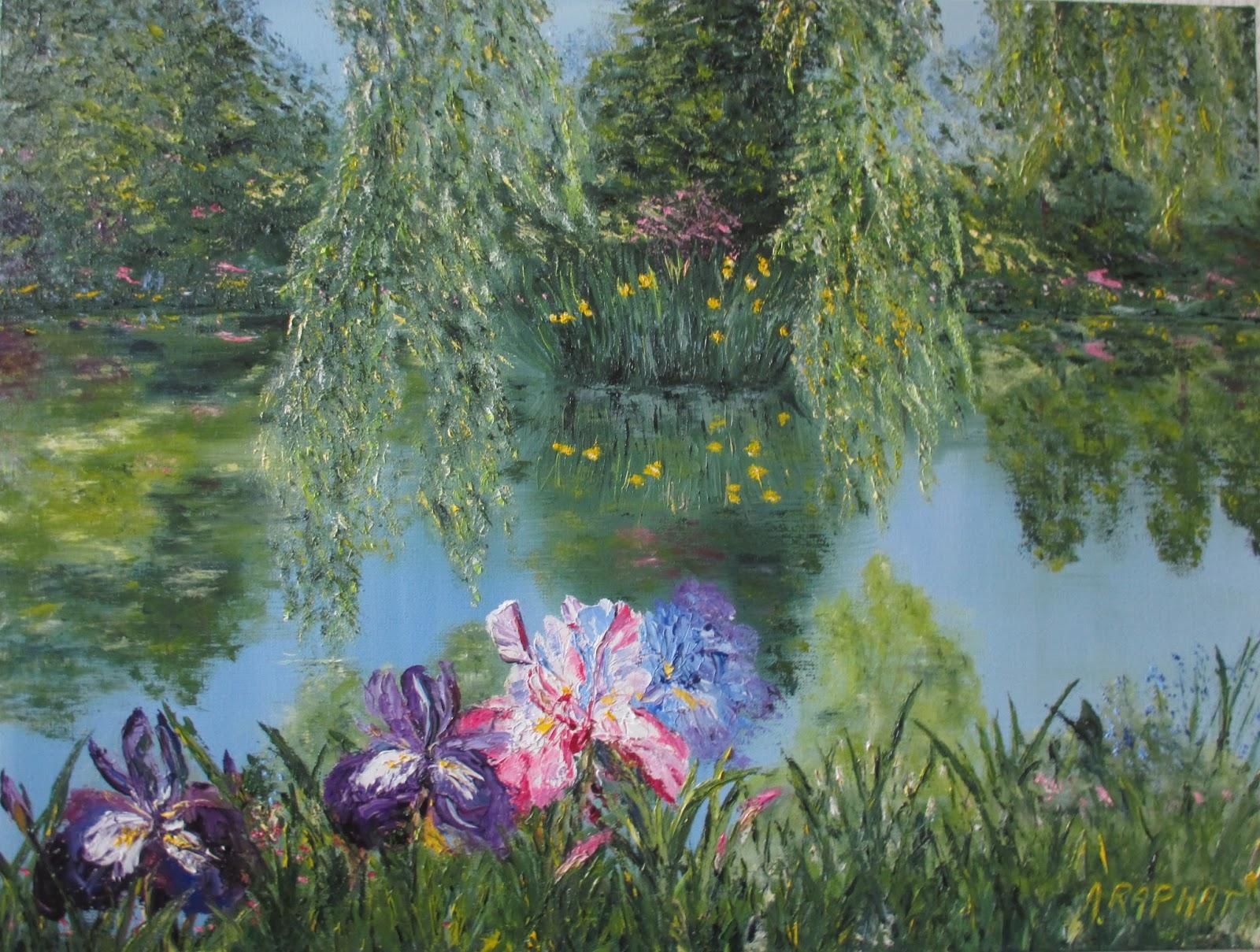 Arlette Raphat Artiste peintre mai 2015