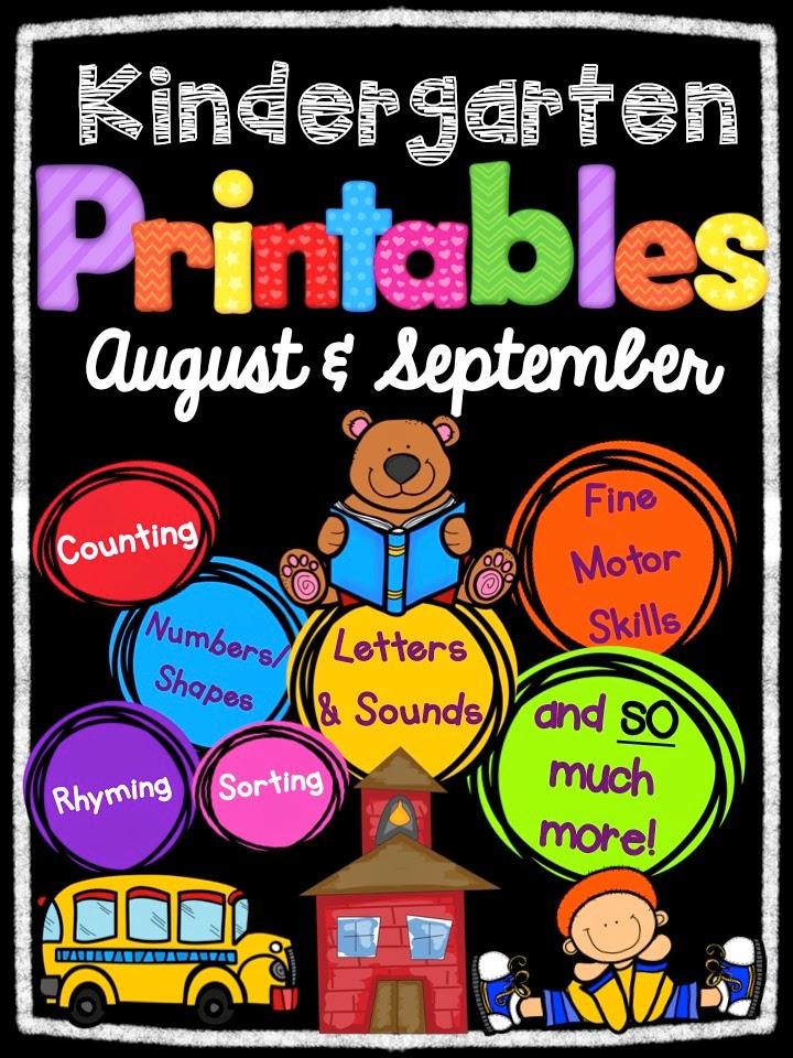 http://www.teacherspayteachers.com/Product/Kindergarten-Back-to-School-Printables-August-September-1305163