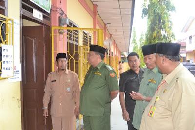 Kakankemenag Tanjungbalai Monitring Pelaksanaan UN