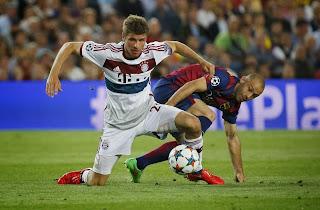 Cara Bayern Hencurkan Barca