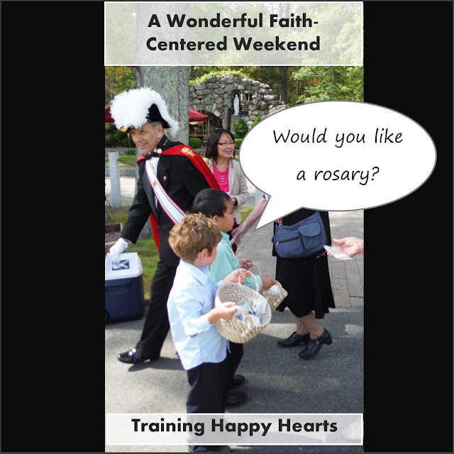 http://traininghappyhearts.blogspot.com/2015/06/what-weekend-for-celebrating-faith.html