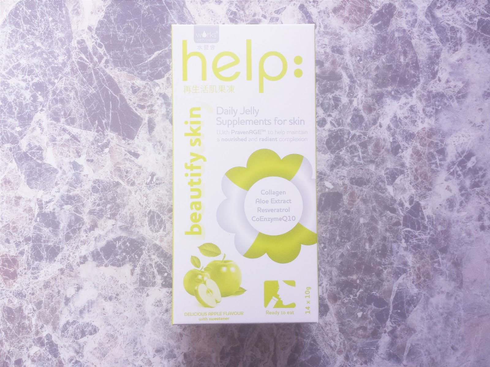 Works With Water Help: Beautify Skin Jelly Supplement