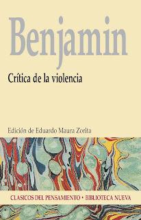 Crítica de la Violencia - Walter Benjamin