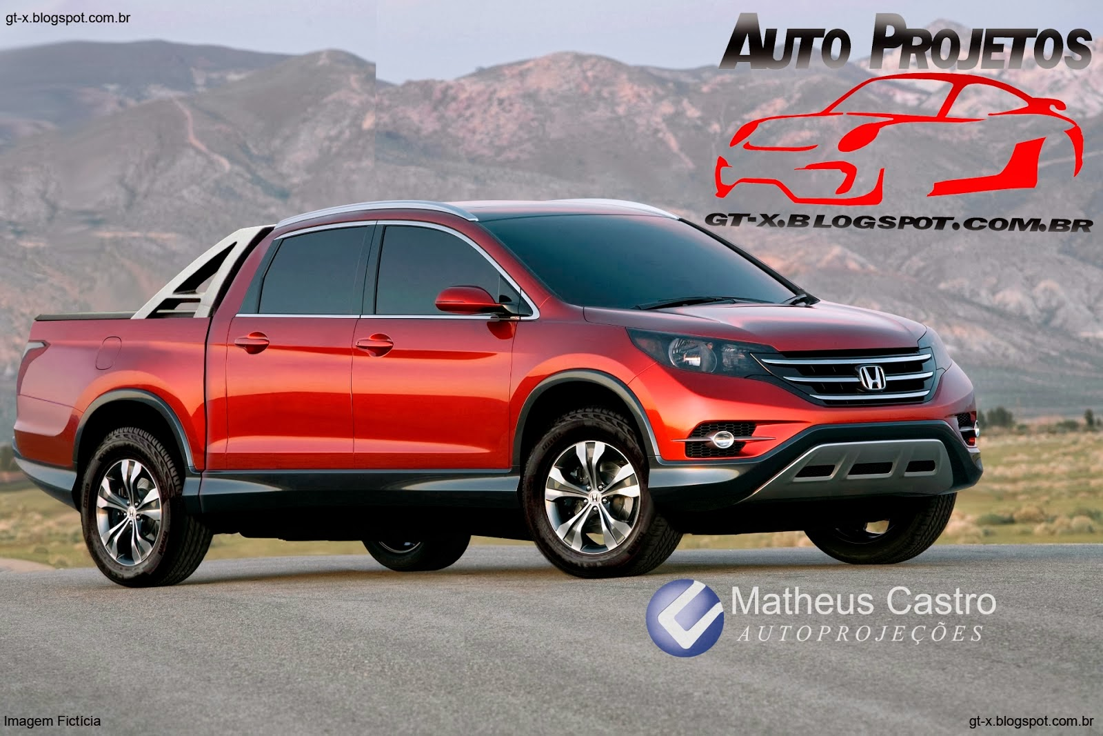 What Would The CRV Look Like As A Truck You Ask