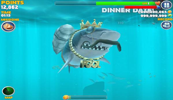 Hungry Shark Evolution Android v3.7.2 Hileli Apk