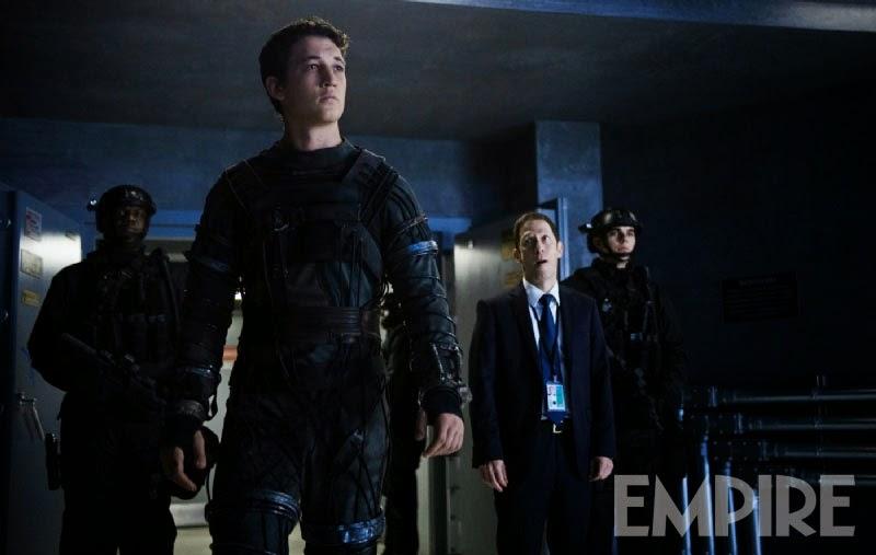 Miles Teller y Tim Blake en Fantastic Four