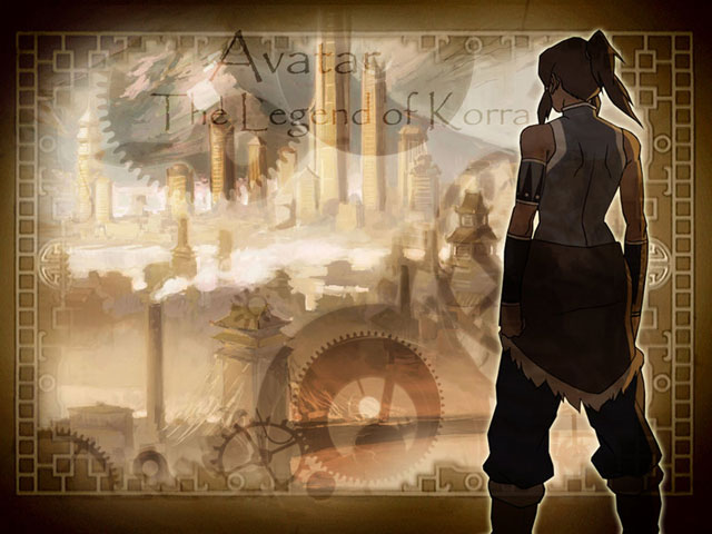 korra and republic city