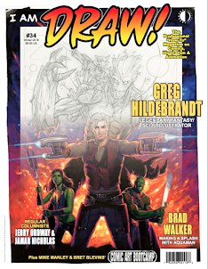 DRAW! Magazine NO.34 ON SALE NOW!