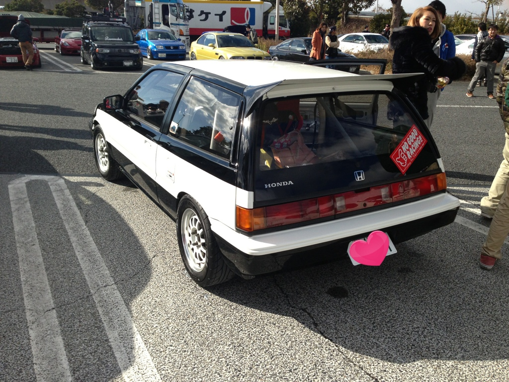 Honda Civic III, usportowiony model, tuning samochodów, Japonia, bilder