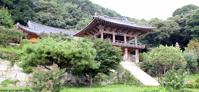 Pabellón Anyangnu del templo Buseoksa