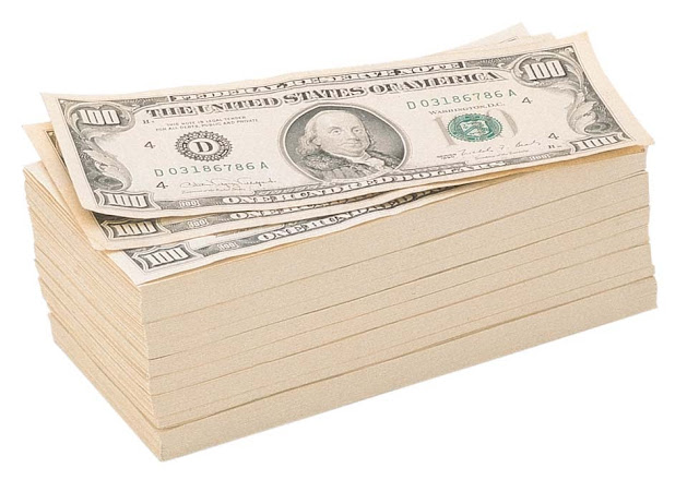 Пачка долларов