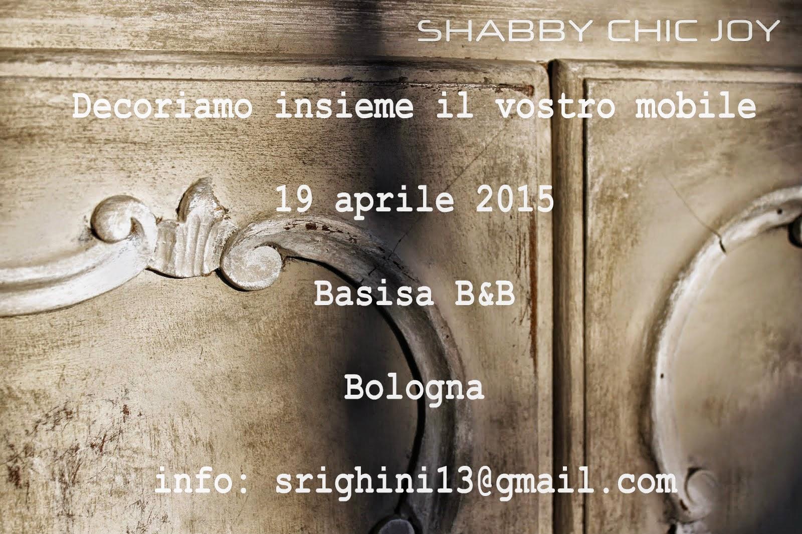 <strong> Corso di tecnica shabby a Bologna <strong></strong></strong>