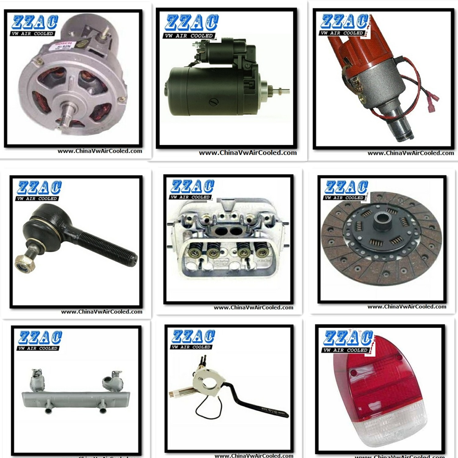 Vw Beetle Racing Parts: ChinaVwAirCooled ZZAC-Excellent China Exporter For VW Air