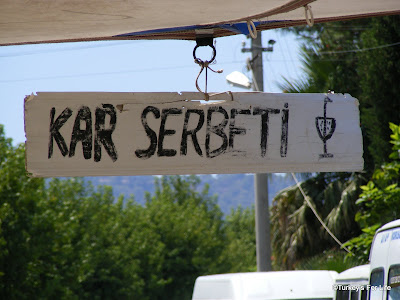 Turkish drinks - Kar Serbeti