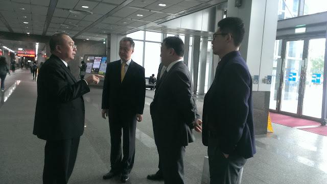 中國機電產品進出口商會台北辦事處參訪團