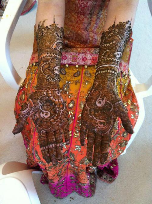 Mehndi Images For Bridal : Mehndi designs bridal for full hands