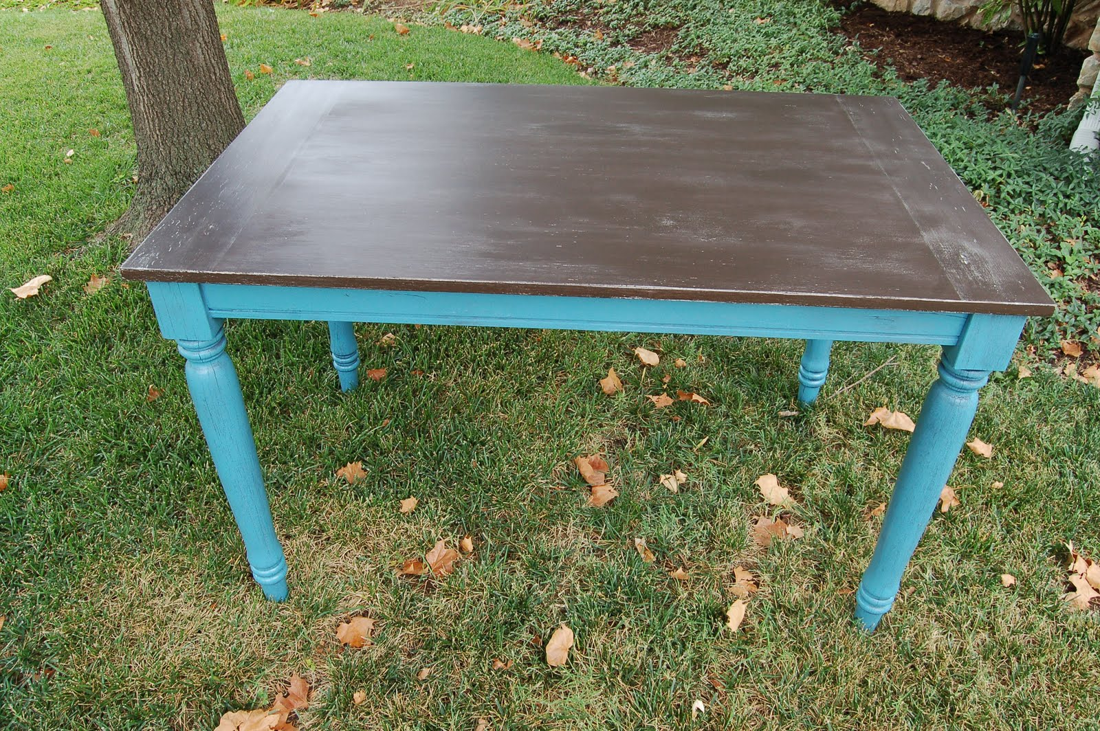 Kitchen Island Or Table Distressed Turquoise Kitchen Island Quicuacom