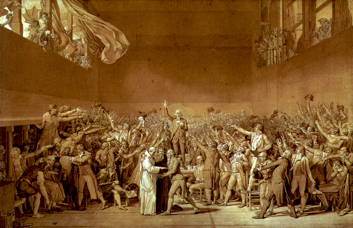 The Tennis Court Oath. 1791