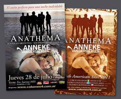 Anathema + Anneke / PPC 2011