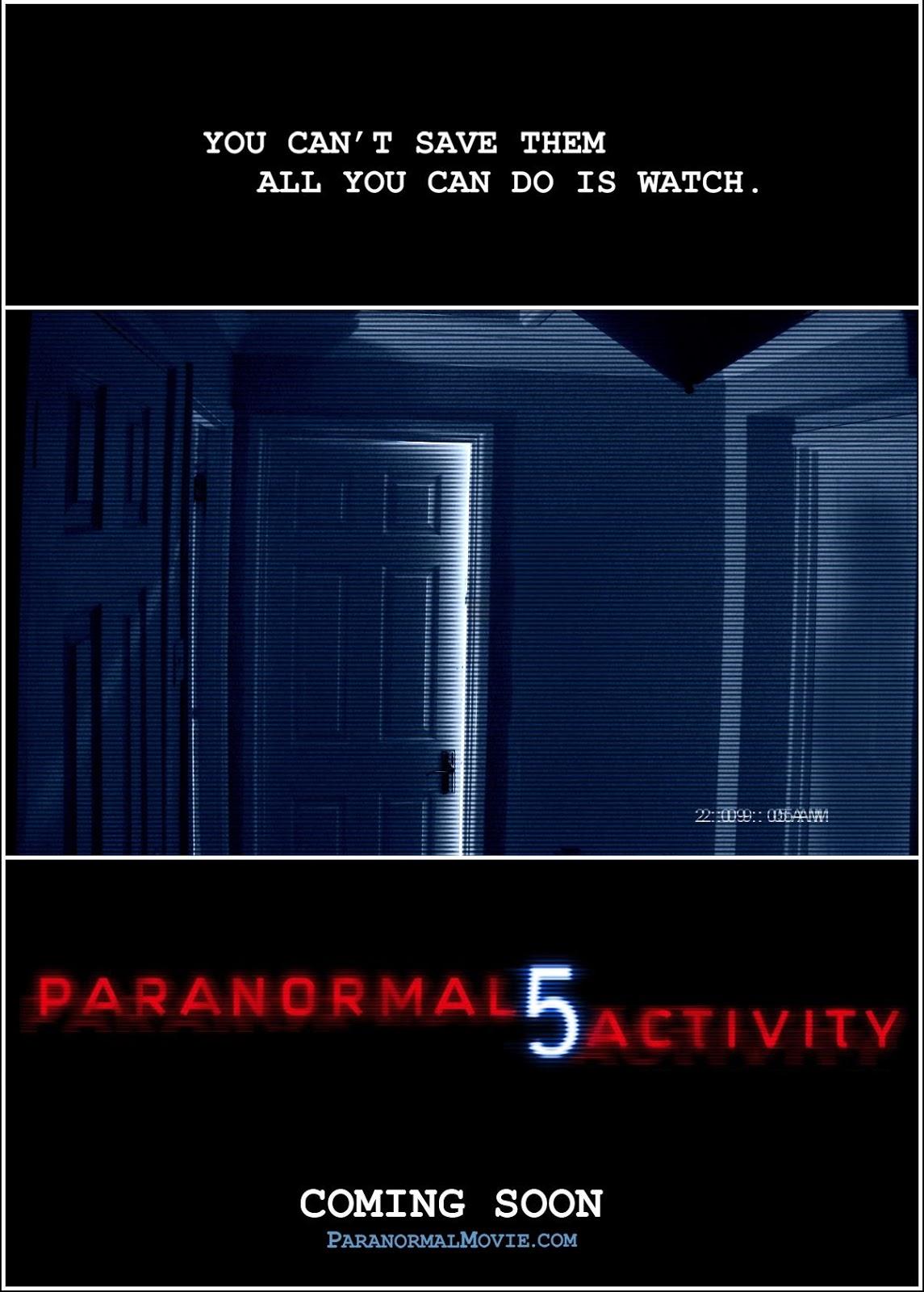 Actividad Paranormal 5: La Dimensión Fantasma