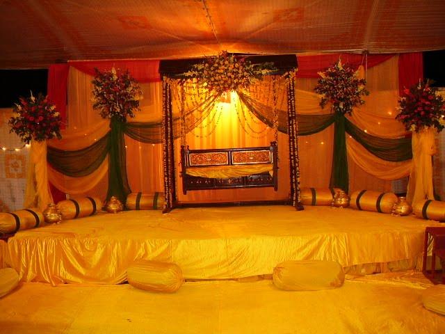 Mehndi Stage Decoration Dailymotion : Fashion of life style mehndi stage decoration