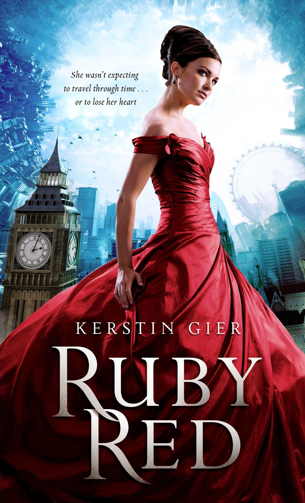 ruby red by kerstin gier us book cover hd large precious stone trilogy ruby red series ya young adult time travel science fiction romance