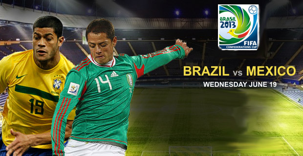 Copa Confederaciones 2013 - Brazil vs Mexico