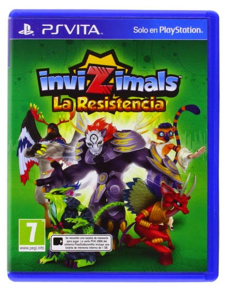 VIDEOJUEGOS - Invizimals . La Resistencia  PSVITA | PlayStation Vita (20 noviembre 2014)  A partir de 7 años