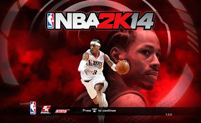 NBA 2K14 Allen Iverson Title Screen Mod Nba2k14-allen-iverson-game-screen-cover-startup-mod