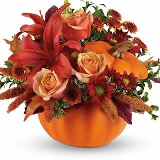 Order A Pumpkin Full of Flowers
