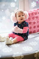 Babies Pictures Pink Dress With Cute Smile Kids Photos