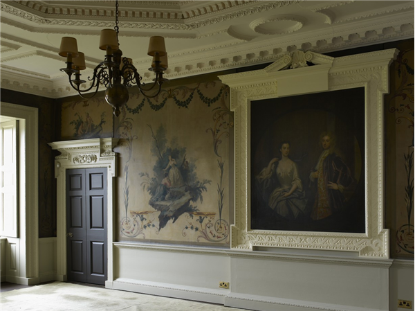 Wentworth Woodhouse Painted Drawing Room