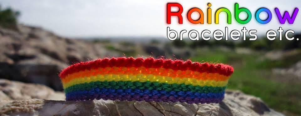 Rainbow Bracelets Etc