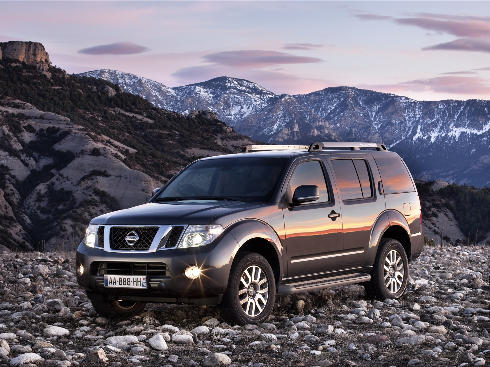 Car Pictures: Nissan Pathfinder and Navara 2011
