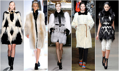 Black Fashion Trends on Coulter Curated  Fall 2011 Runway Fashion Trends