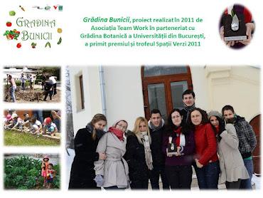 Premiul Spații Verzi 2011 pentru proiectul Grădina Bunicii