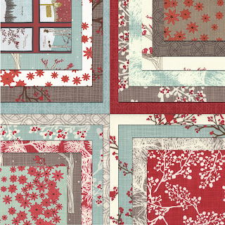 Moda WINTER'S LANE Christmas Quilt Fabric by Kate & Birdie Paper Co.