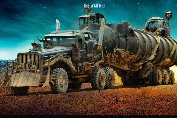 Conheça os carros do novo filme Mad Max: Fury Road