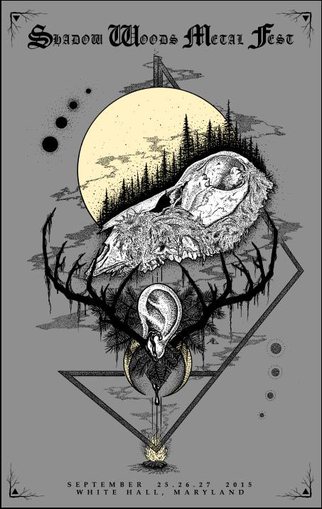 One of the art prints available at shadowwoodsmetalfest.bigcartel.com