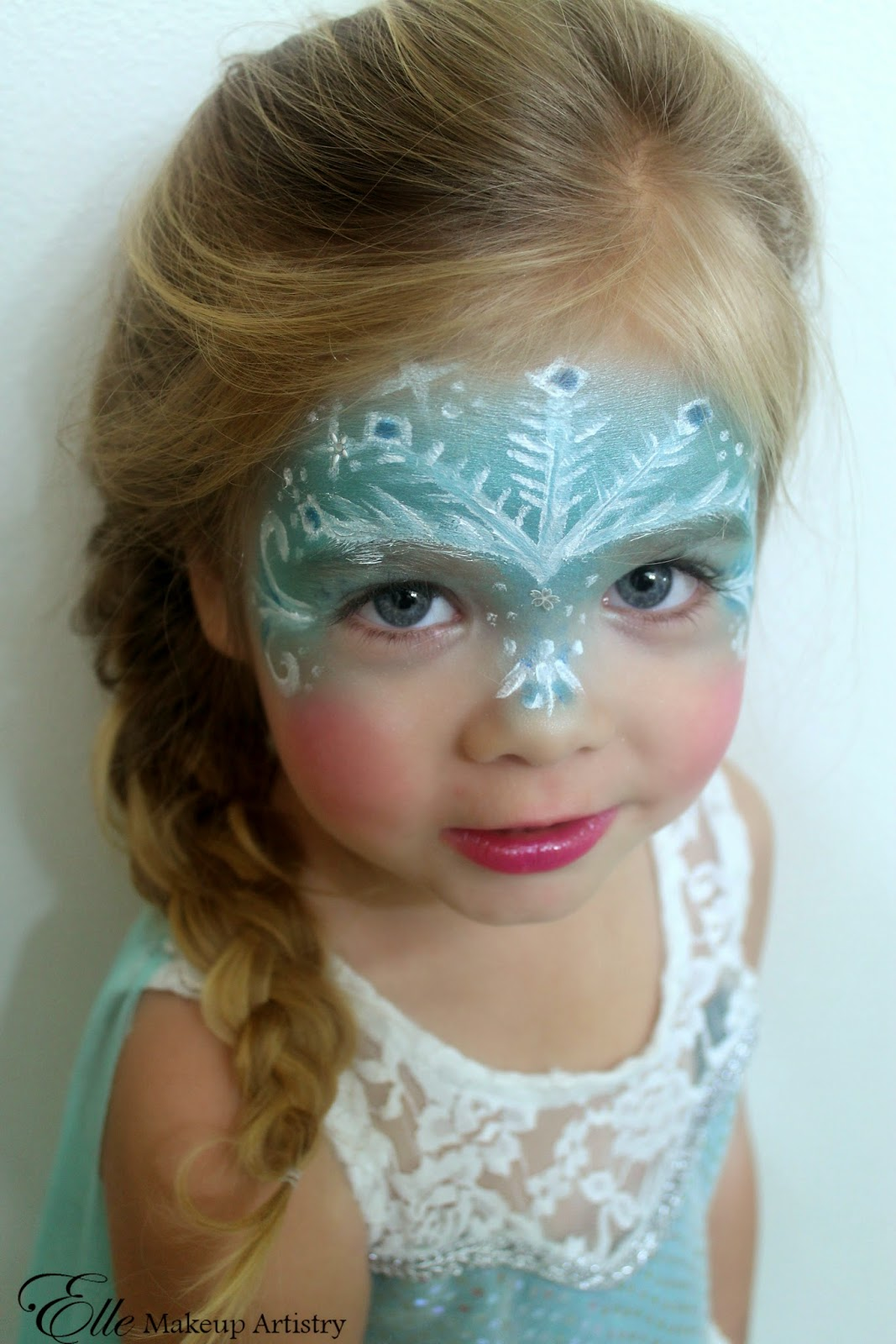 Elle Makeup Artist: Halloween Makeup and Hair - Elsa - Disneyu0026#39;s Frozen ...