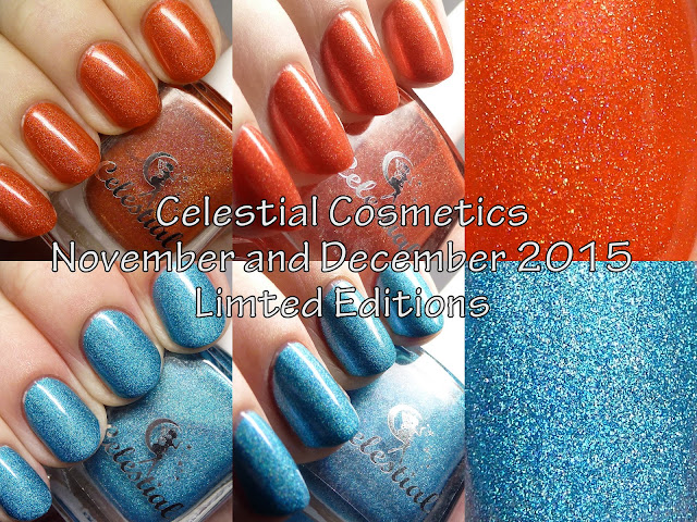 Celestial Cosmetics LE November and December 2015